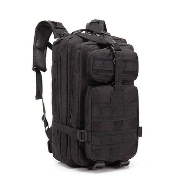 Tactical Molle Backpack - Black