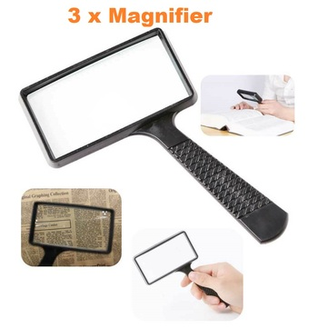 3 x Magnifying Real Glass Loupe
