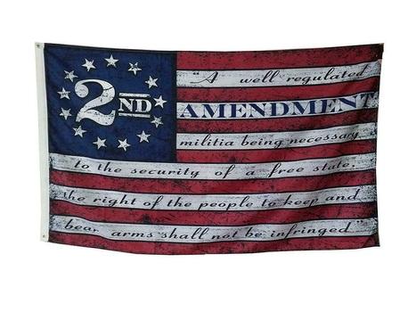 2nd Amendment US Flag