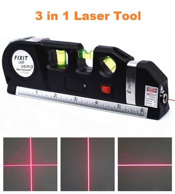 3 in 1  Laser Level & Measuring Tape
