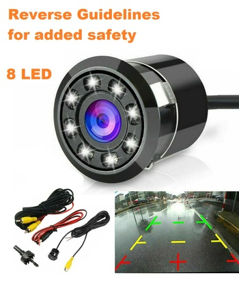 170 Degree Rearview Back Up Camera Kit
