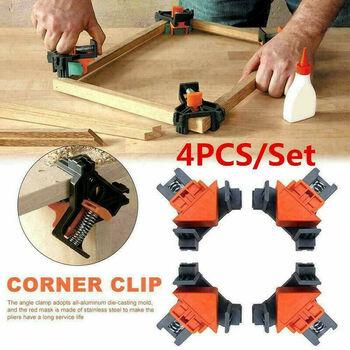4 pc 90 Degree Corner Clamps