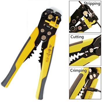 Self Adjusting Wire Cutter Crimper