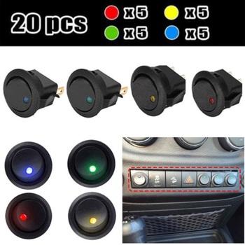 20 pc Rocker Switches - 20 Amp