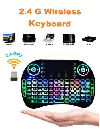2.4G 2.4G Mini Wireless Keyboard Mouse with Touchpad