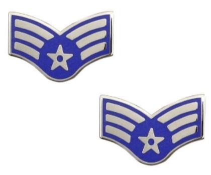 Vietnam Era USAF Senior Airman Insignia Pin
