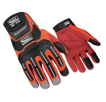 Ringers Glove -Orange  Mechanics Gloves R14 - Size Large