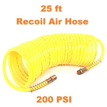 "25 ft  - 1/4"" Recoil Air Hose"