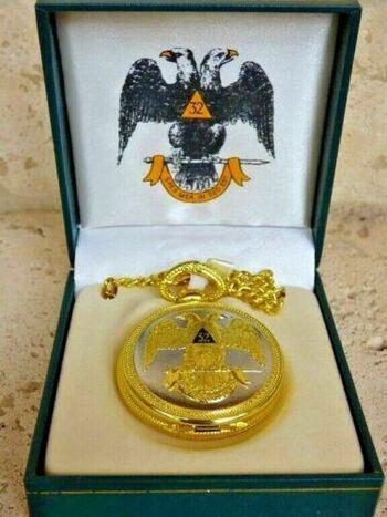 Masonic 32nd Degree Pocket Watch