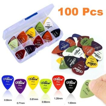 100 Pc Assorted Guitar Picks