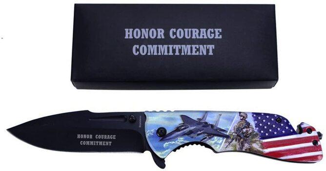 US Air Force Pocket Knife USAF