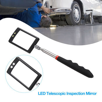 Extendable LED Inspection Mirror