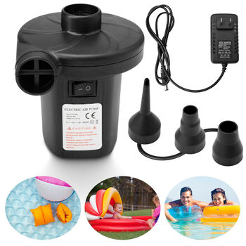 Electric Air Pump with 3 Nozzles