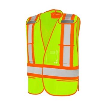 Universal Size Safety Vest - Lime