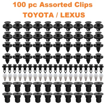 100 pc Assorted Toyota / Lexus Trim Clips