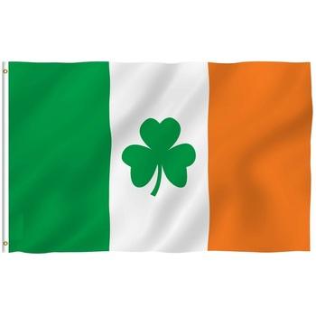 Irish Shamrock Flag 5 x 3 ft