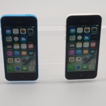 Apple iPhone 5C, 16 GB, Carrier Unlocked, 2 Units